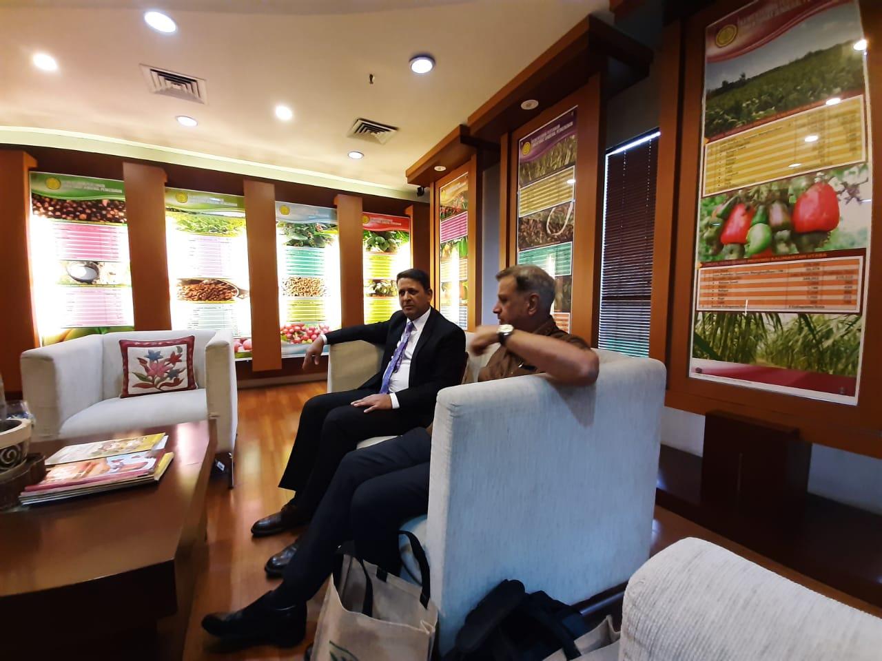 চেয়ারম্যান মহোদয় কর্তৃক ইন্দোনেশিয়া চা বোর্ড Exposure Visit